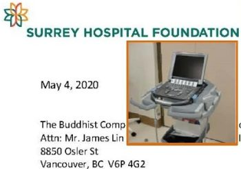 TZU CHI MADE POSSIBLE! – Surrey Hospital Foundation