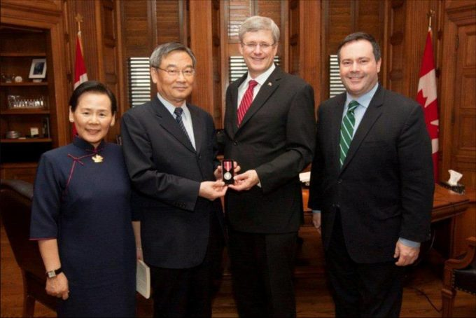 TZU CHI Volunteer received Queen Elizabeth II Diamond Jubilee Medal