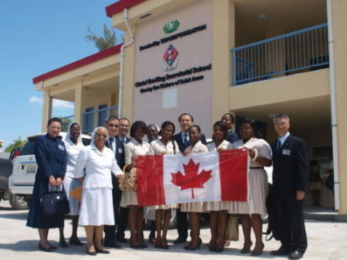 Tzu Chi Holds Grand Opening for Three New St. Anne Schools in Haiti